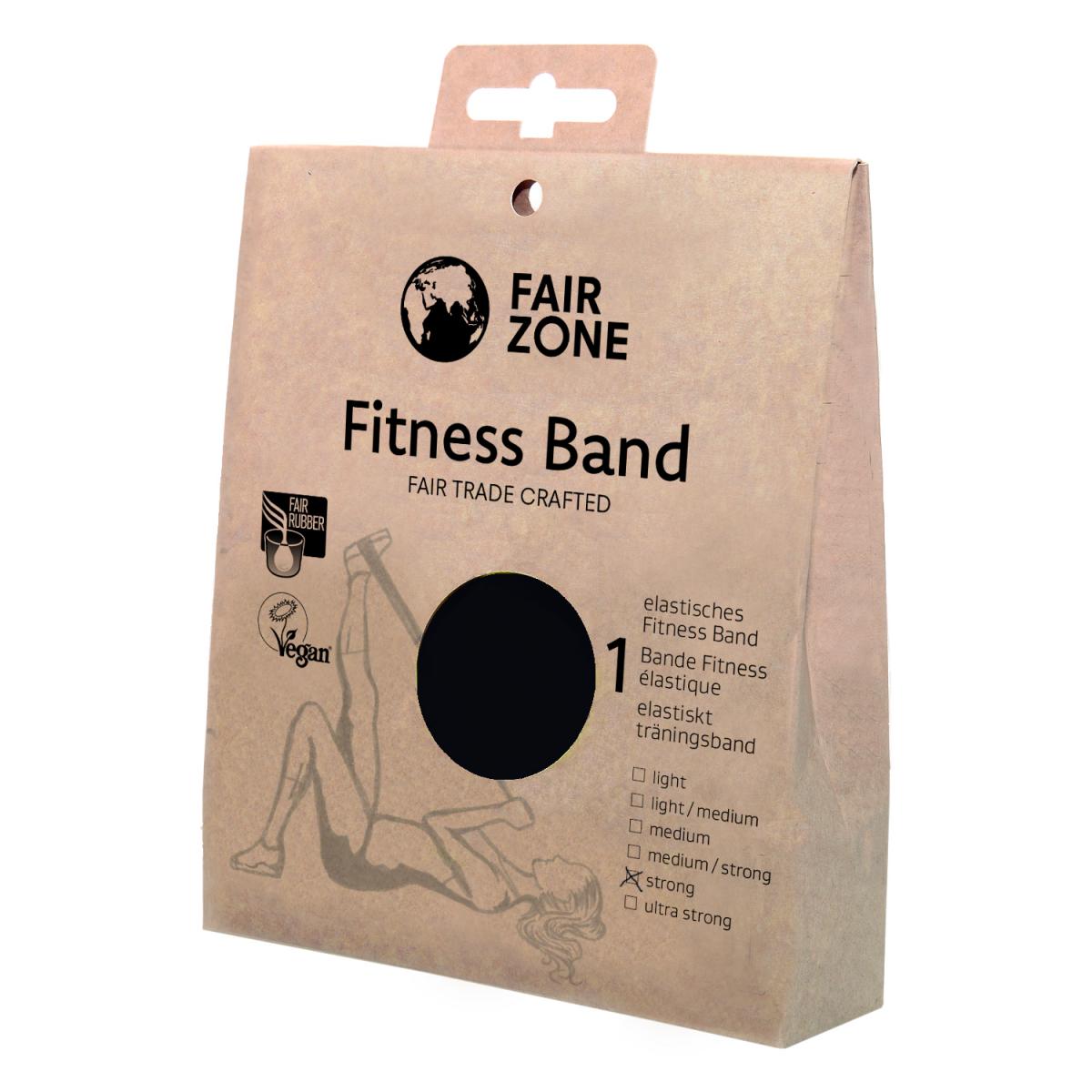 Fitness Band 0.35mm, Naturkautschuk Black