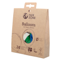 Balloon Mix, Naturkatuschuk-Ballone 24 Stk
