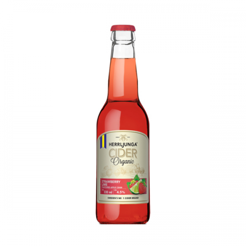 Bio Cider Erdbeer Limette (alkoholhaltig)
