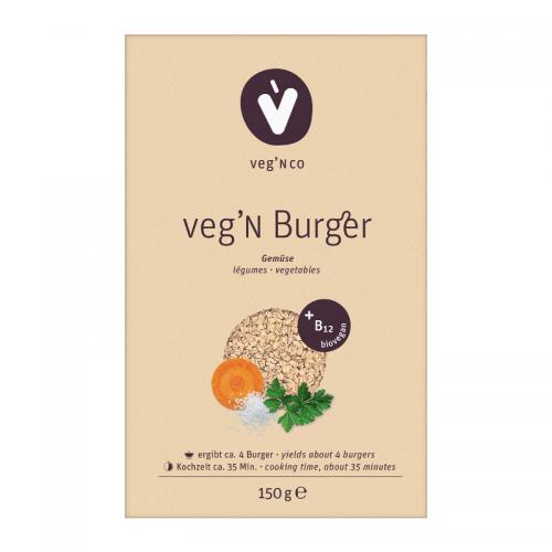 Bio veg N Burger + B12