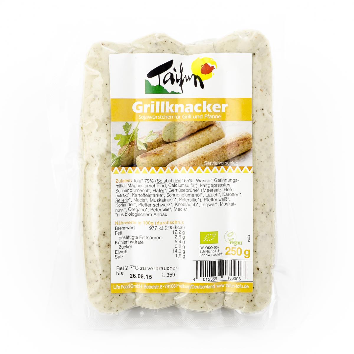 Tofu Grillknacker Taifun