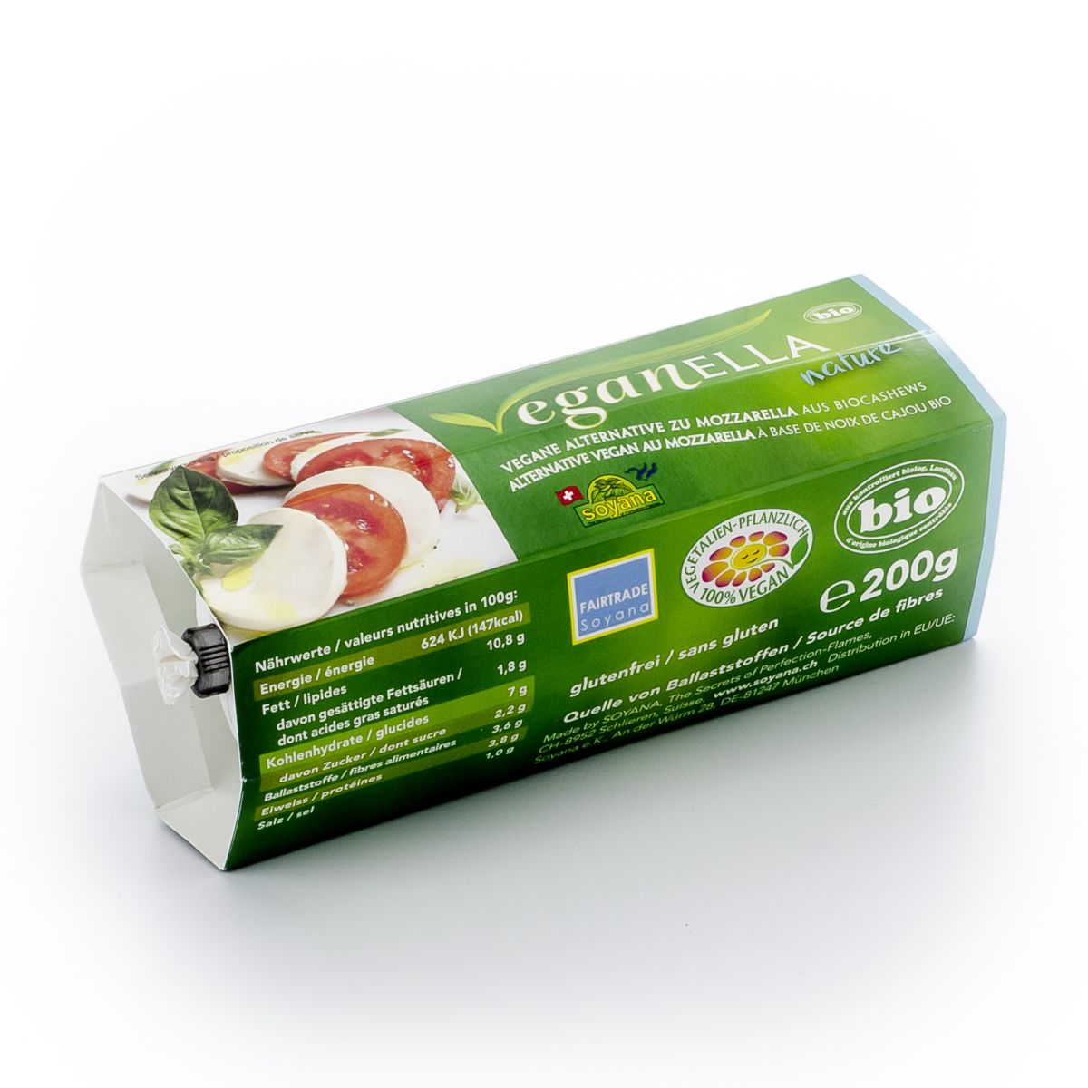 Veganella nature, Mozzarella-Alternative
