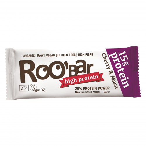 Rohkost Protein-Riegel Cherry & Maca
