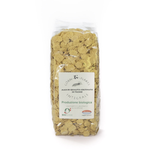 Cornflakes aus Tessiner Mais Bassetti