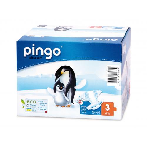 Pingo 3 Öko-Windeln 4-9 kg 88 Stk Multipack