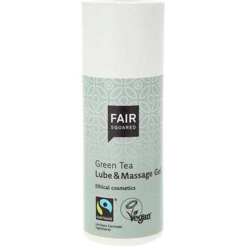 Lube- und Massagegel Green Tea