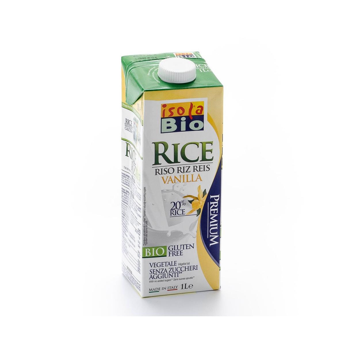 Reis Drink Vanille Tetrapak 1 l - Isola Bio