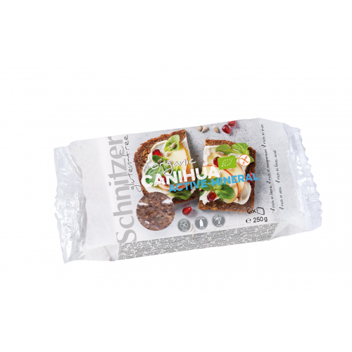 Bio Canihua aktiv Schnittbrot