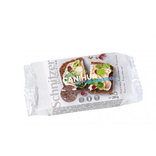 Bio Canihua aktiv mineral Schnittbrot glutenfrei