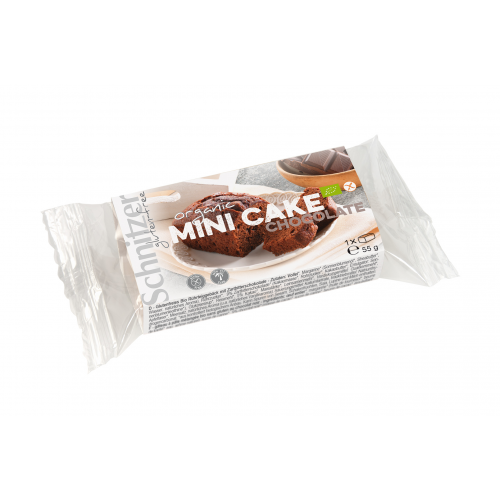 Bio Mini Cake Chocolate 1 Stk 55g