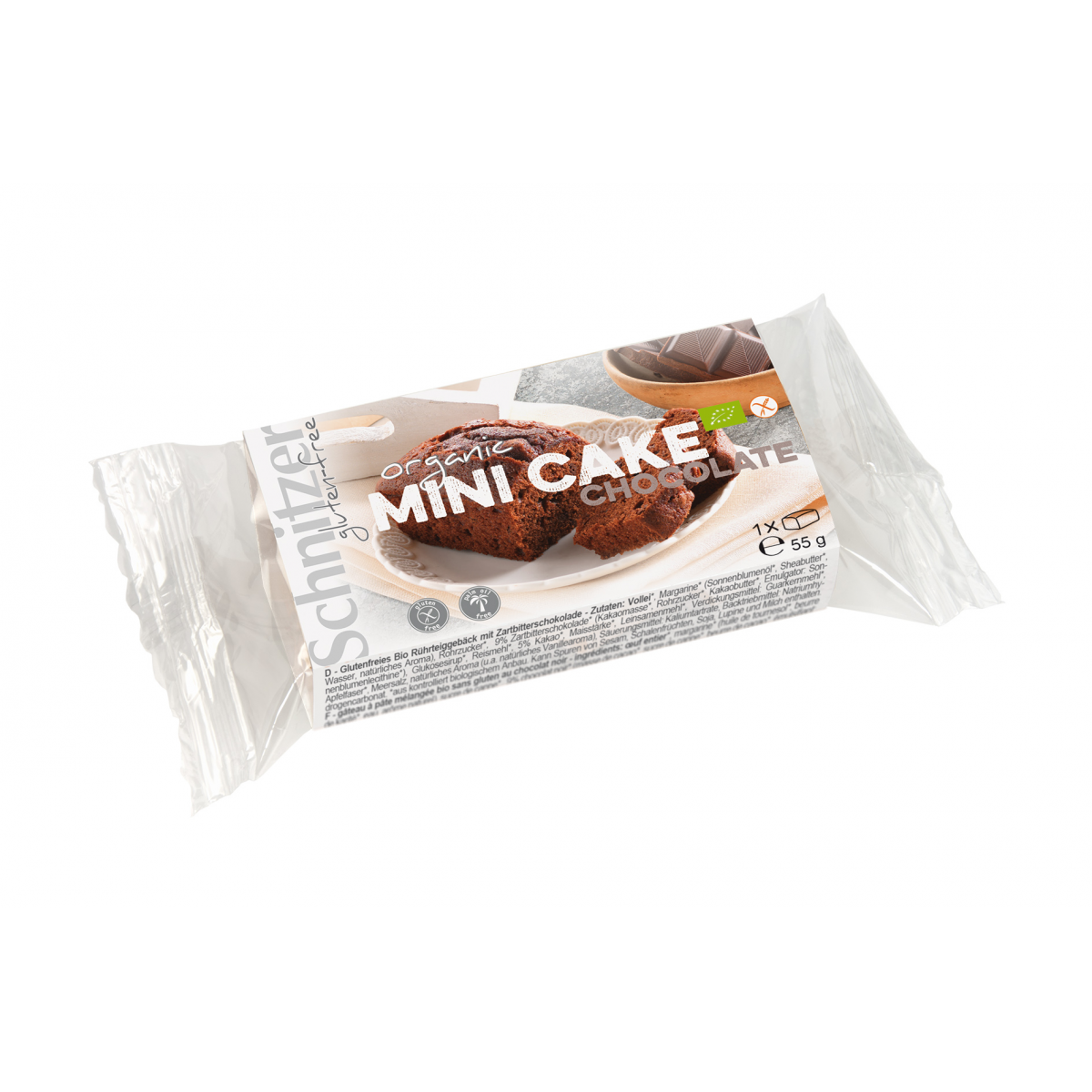 Bio Mini Cake Chocolate glutenfrei