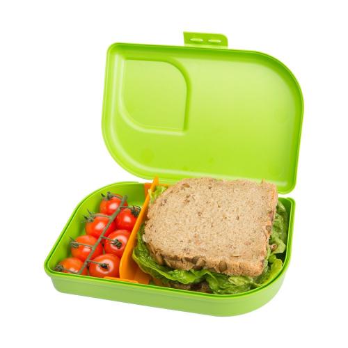 Nana Sandwichbox, Farbe lime , Clipverschluss