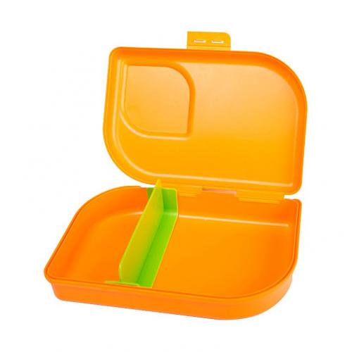 Nana Sandwichbox, Farbe mandarin , Clipverschluss
