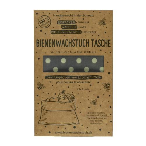 Bienenwachstuch Lunchbag 23x23cm