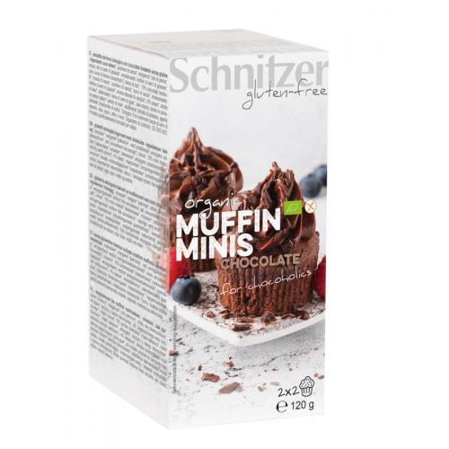 Bio Muffins Mini Chocolate 4 Stk glutenfrei