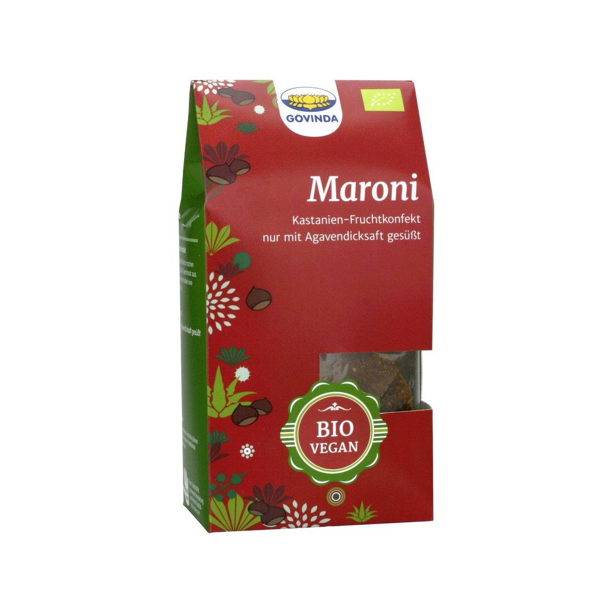 Maroni-Konfekt