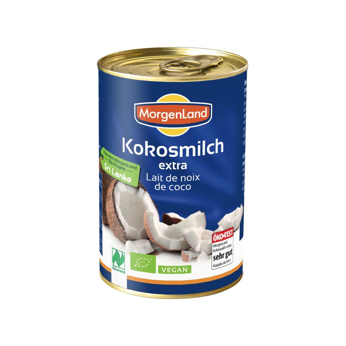 Bio Kokosmilch extra 400ml