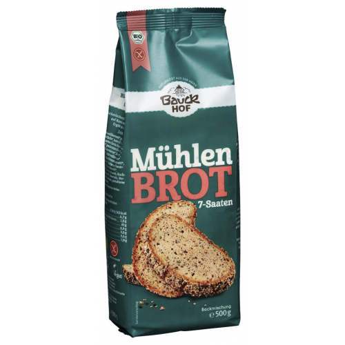 Bio Mühlenbrot 7-Saaten glutenfrei