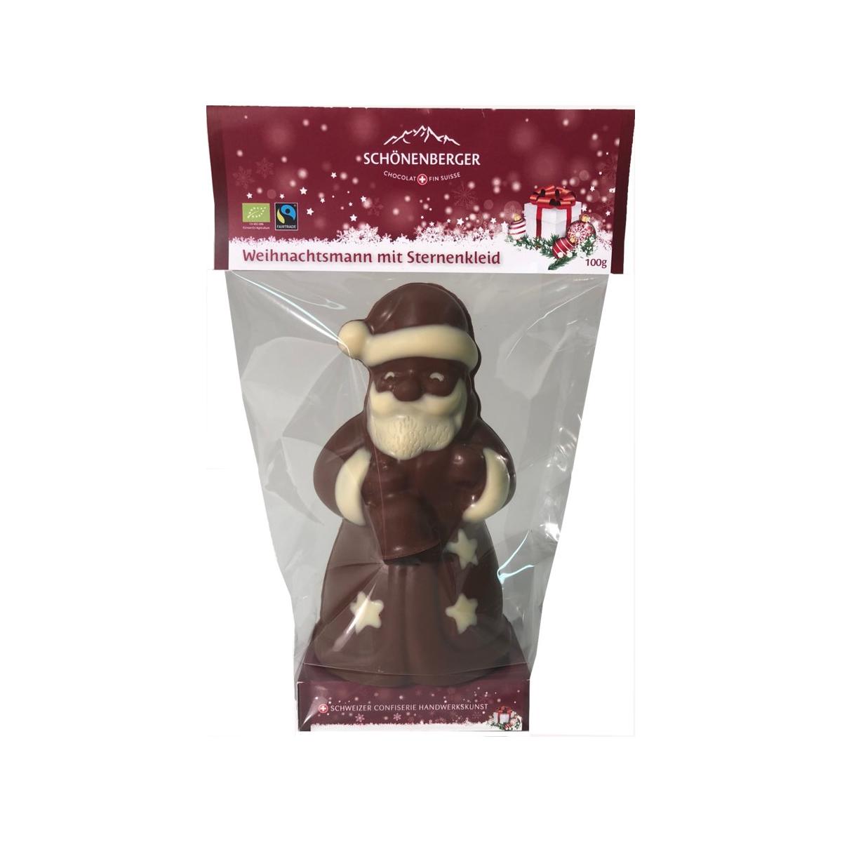Bio Weihnachtsmann im Sternenkleid