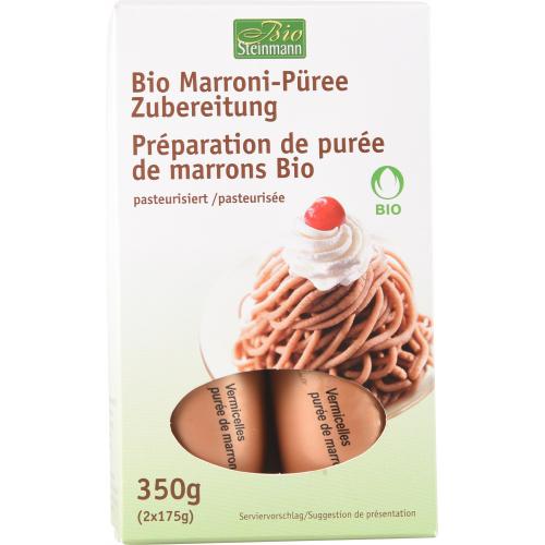 Bio Vermicelles Marronipüree 2x175