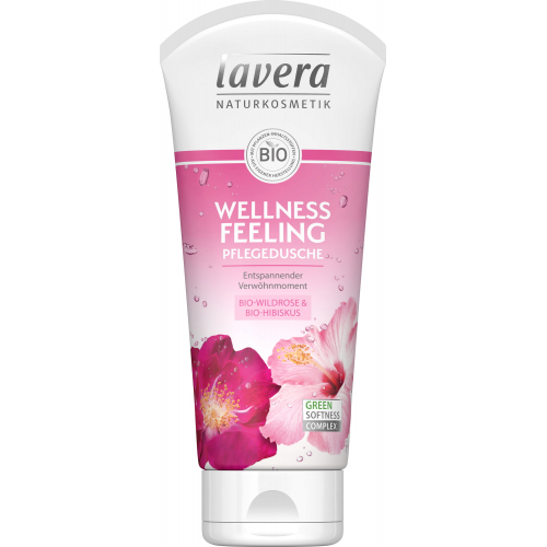 Pflegedusche Wellness Feeling Wildrose Hibiskus