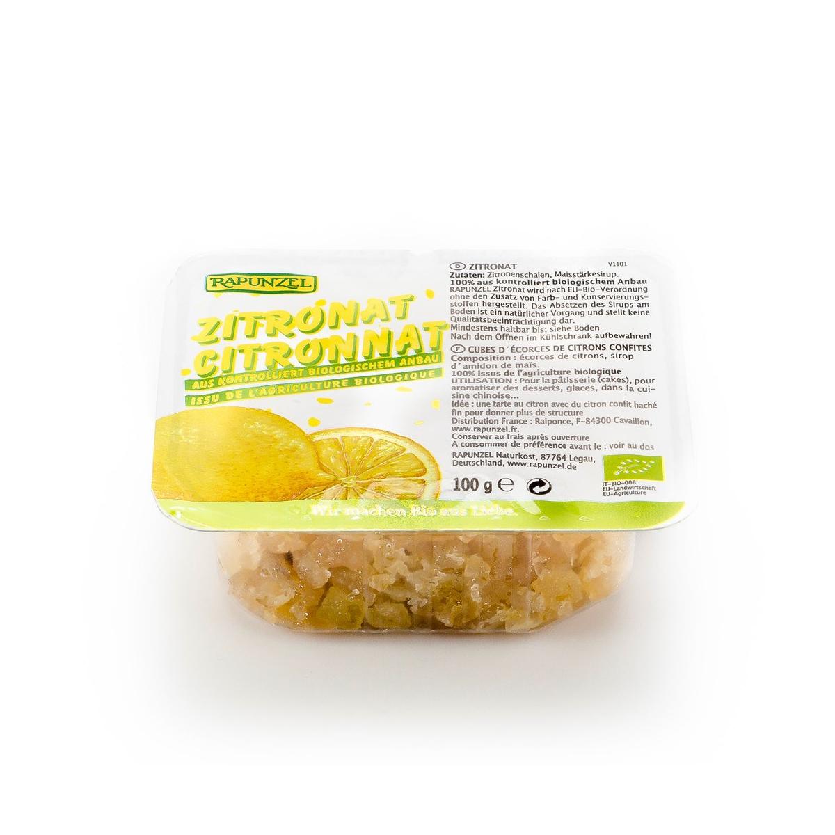 Zitronat ohne Weisszucker