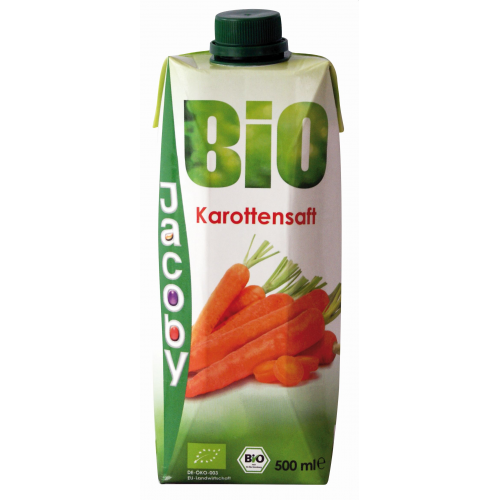 Jacoby Bio Karottensaft 0.5l