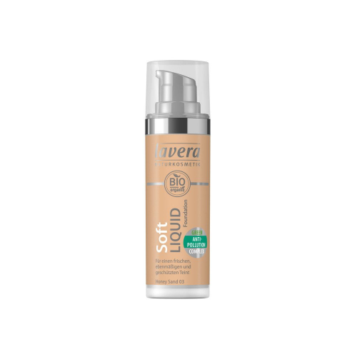 Soft Liquid Foundation -Honey Sand 03-