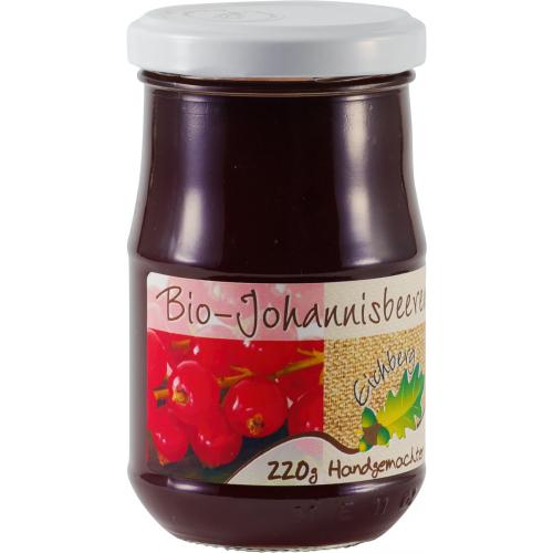 Bio Johannisbeergelée vom Eichberg handgemacht
