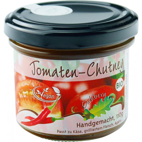 Bio Chutney Rote Tomaten handgemacht 110g