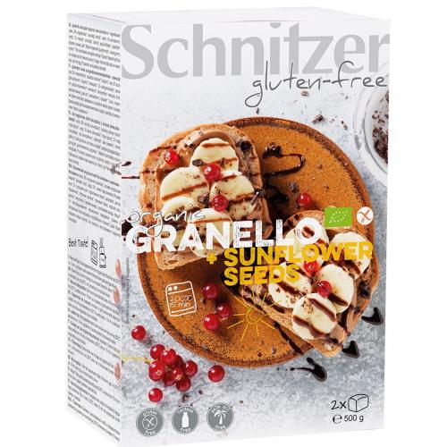 Bio Granello Aufbackbrot glutenfrei