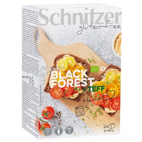 Bio Black Forest 2 Aufbackbrote glutenfrei Teff
