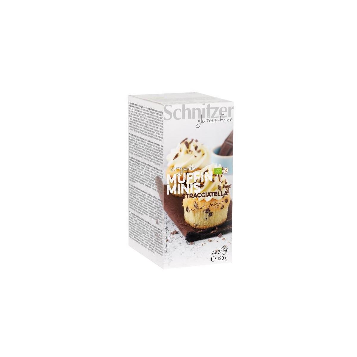 Bio Muffins Mini Stracciatella 4 Stk glutenfrei