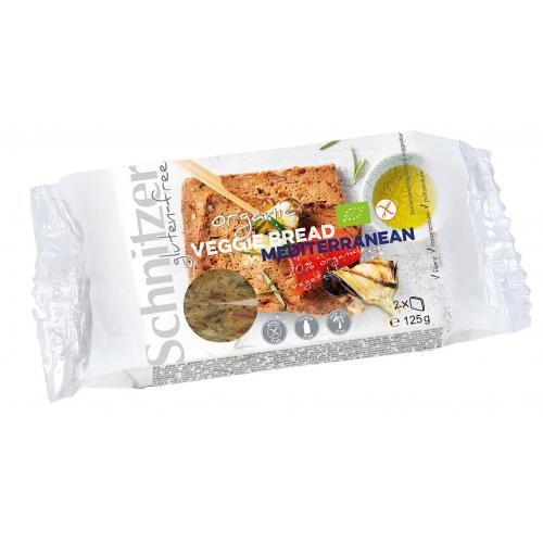Bio Veggie Bread Mediterranean