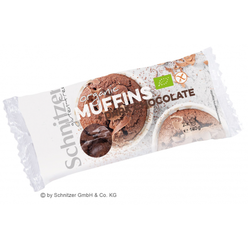 Bio Muffin Dark Chocolate 2 Stk glutenfrei