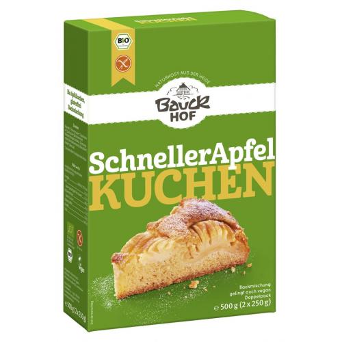 Schneller Apfelkuchen glutenfrei