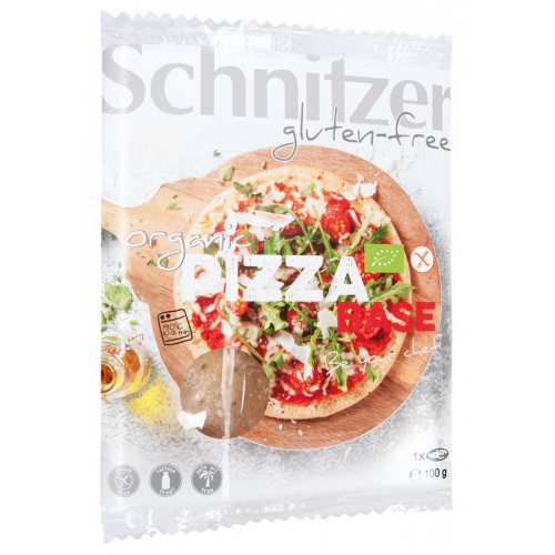 Bio Pizza Base glutenfrei 1 Stk 100g