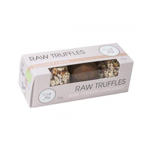 Raw Choco Truffles Hazelnut Cream