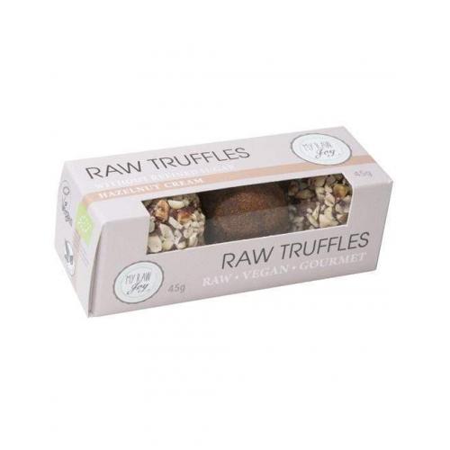 Raw Choco Truffles Hazelnut Cream