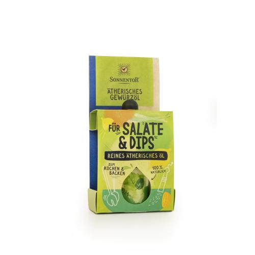 Salate und Dips ätherisches Gewürzöl bio 4,5 ml