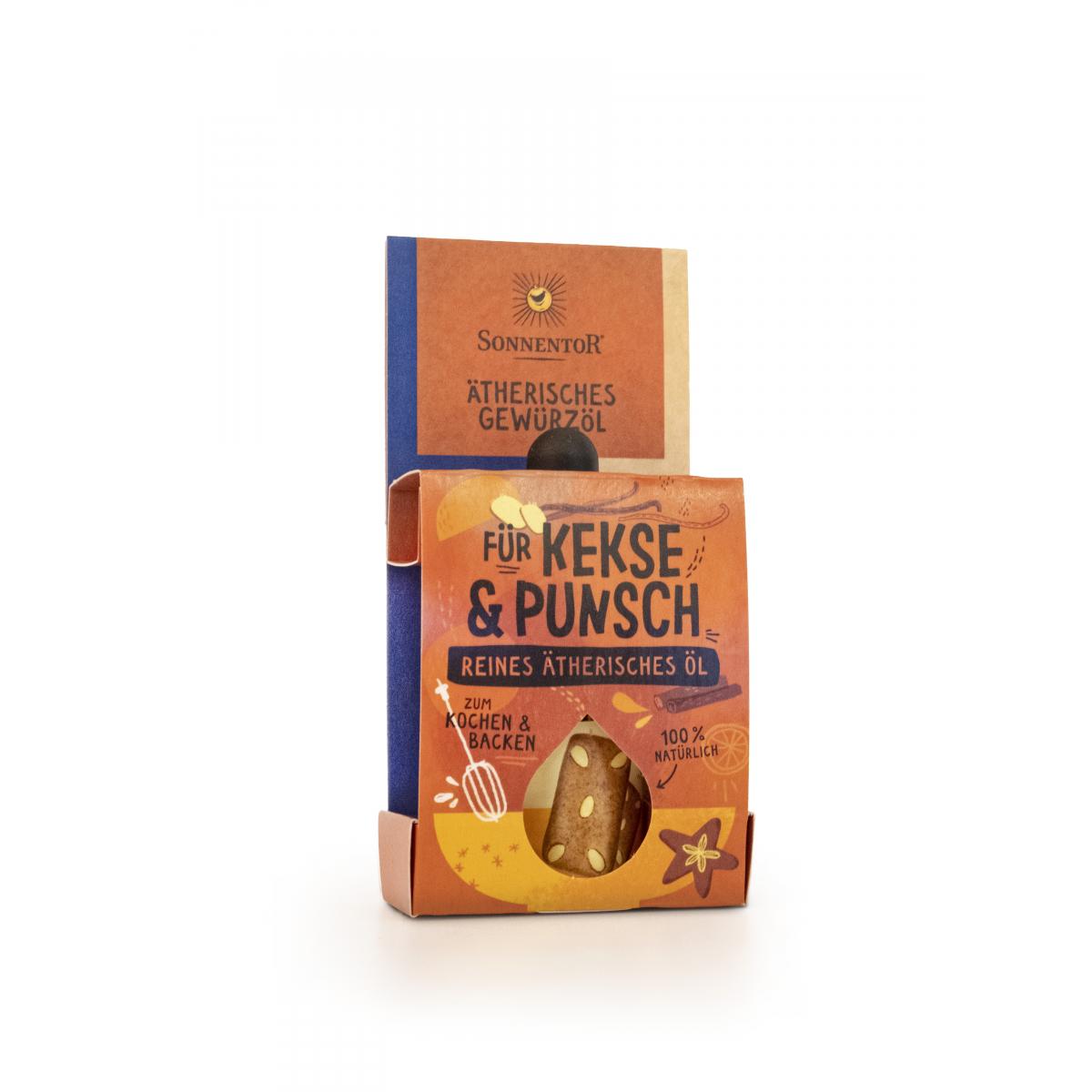 Kekse und Punsch ätherisches Gewürzöl bio 4,5 ml