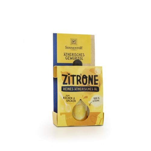 Zitrone ätherisches Gewürzöl bio 4,5 ml