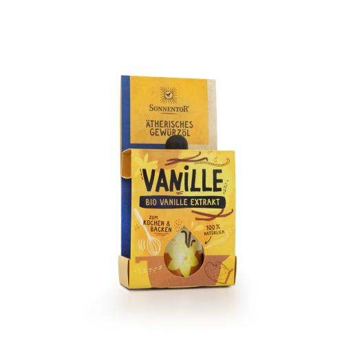 Vanille-Extrakt ätherisches Gewürzöl bio 4,5 ml
