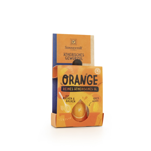 Orange ätherisches Gewürzöl bio 4,5 ml