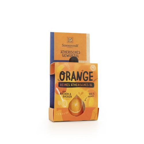 Orange ätherisches Gewürzöl bio 4,5 ml