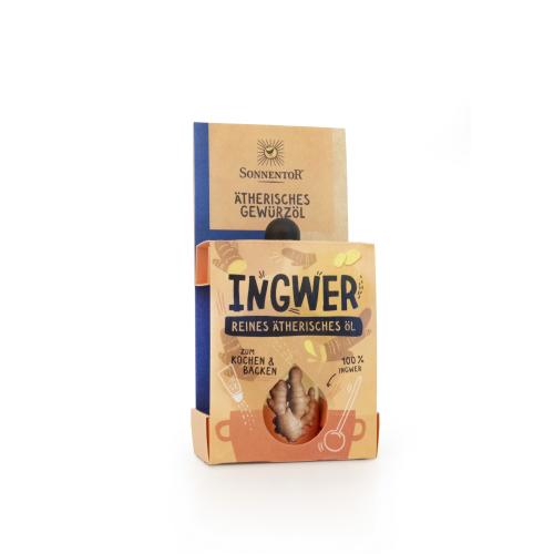 Ingwer ätherisches Gewürzöl bio 4,5 ml