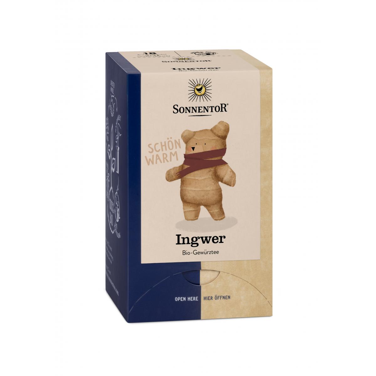 Ingwer-Tee Aufgussbeutel
