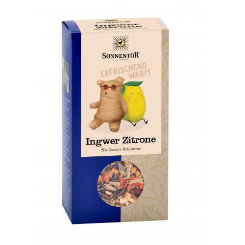 Ingwer-Zitronen-Tee lose