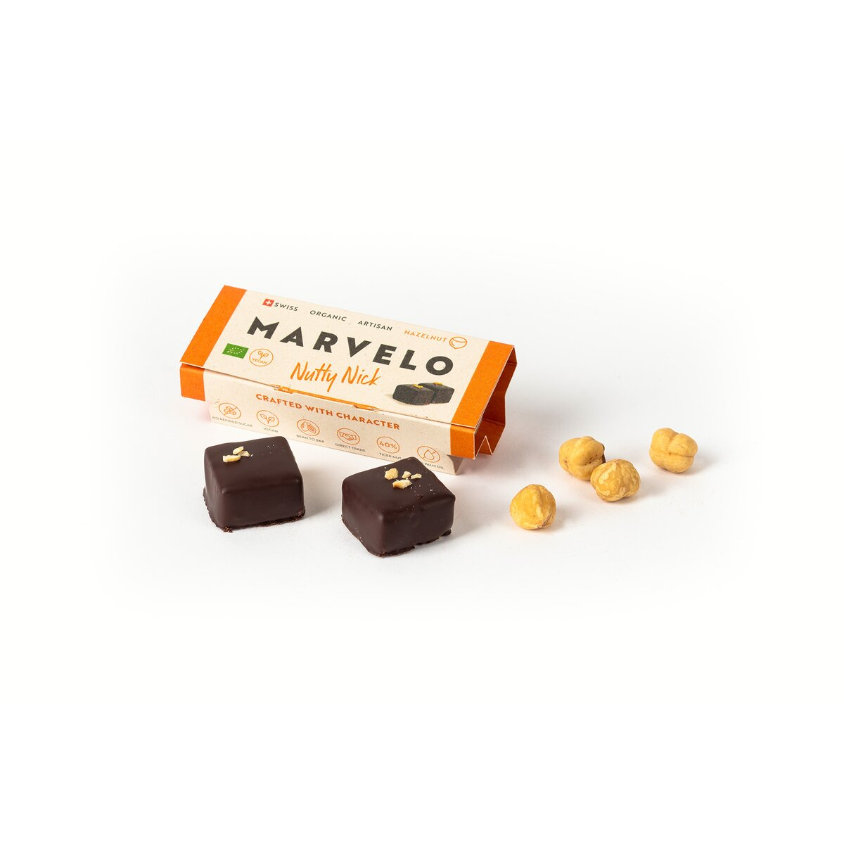 MARVELO Nutty Nick Praline 12er Display