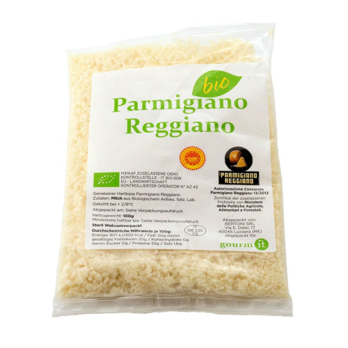 Parmigiano Reggiano gerieben 4 Madonne